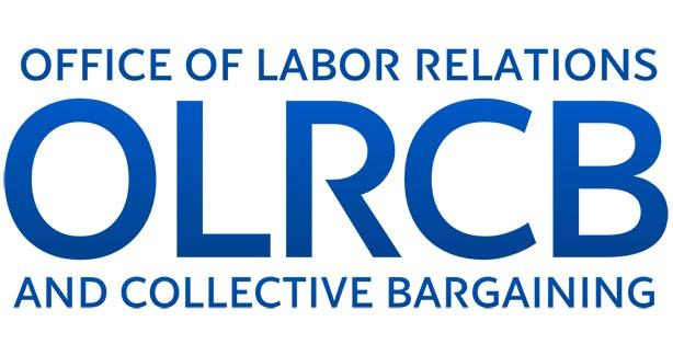 The logo for The Office of Labor Relations and Collective Bargaining